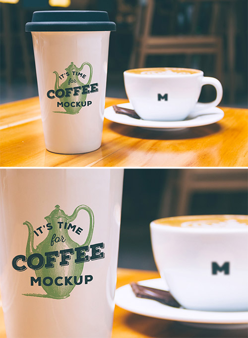 coffee mug free mock-up