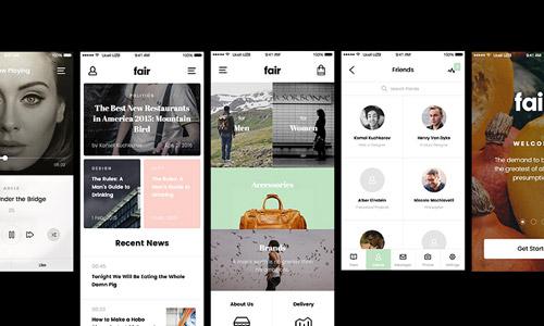 free ios app template