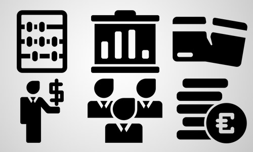 money business icons