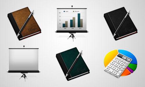 work business icons