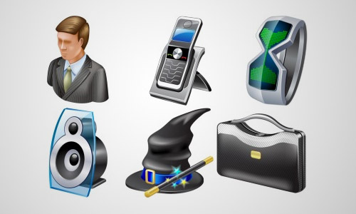 windows business icons