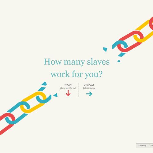slavery storytelling site