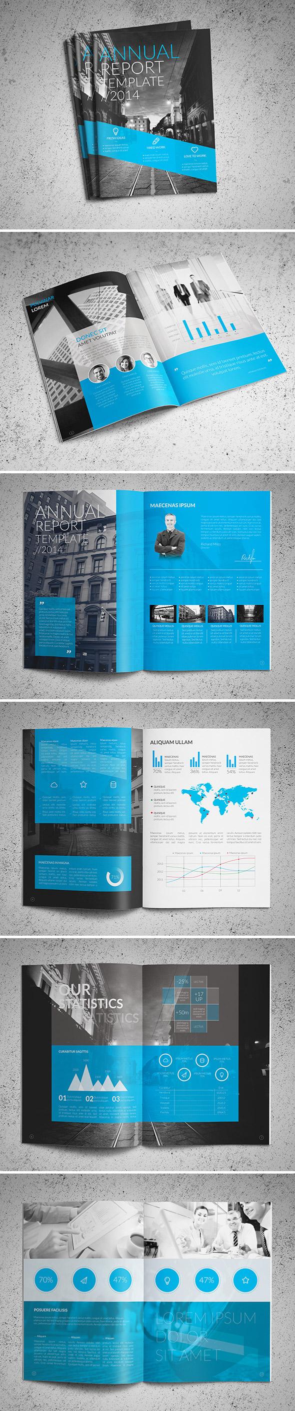 elegant annual report design