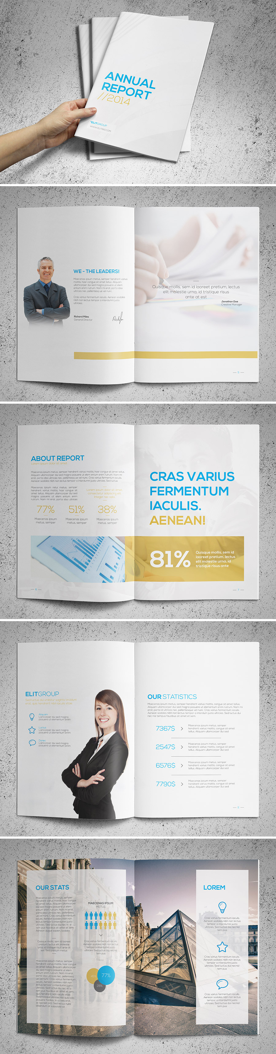 clean annual report