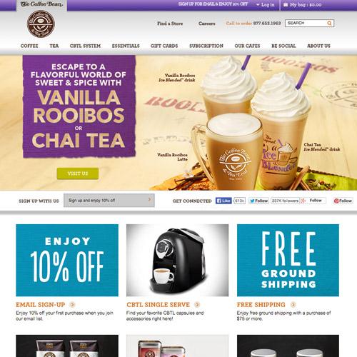 coffee bean website