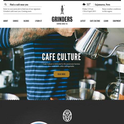 grinders coffee website