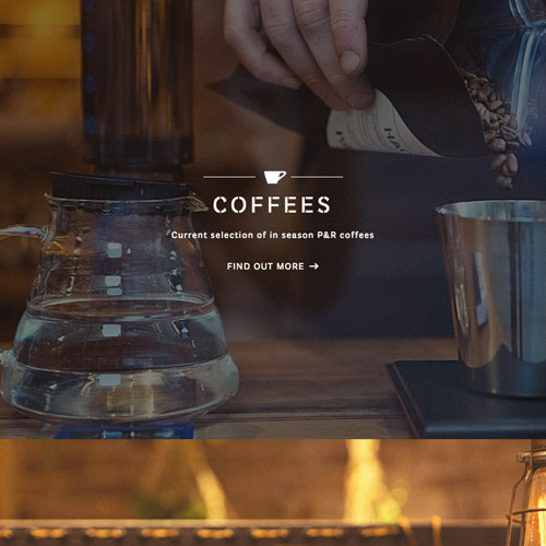 Pablo rusty coffee website