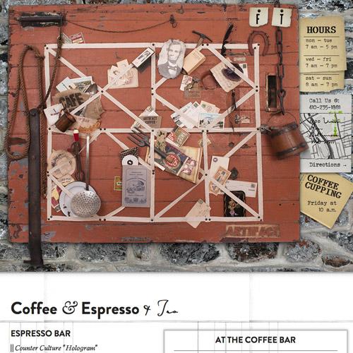 artifact coffee website