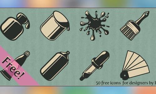 free vintage icon sets