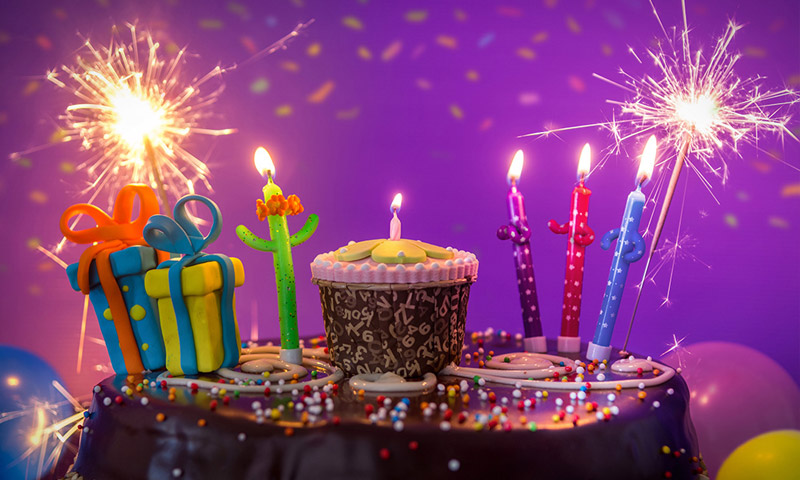 candle birthday animated photography