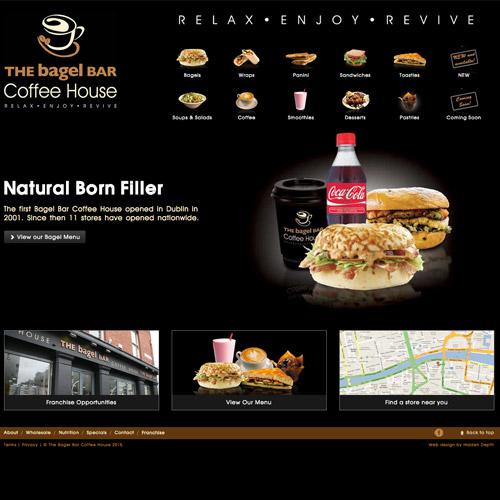 coffee bagel website