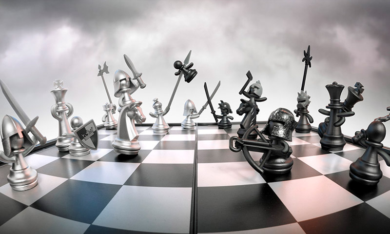 chess animated photography
