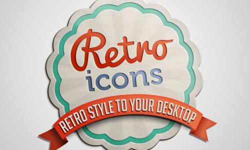 retro icons free