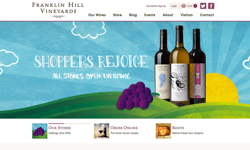 vineyard websites