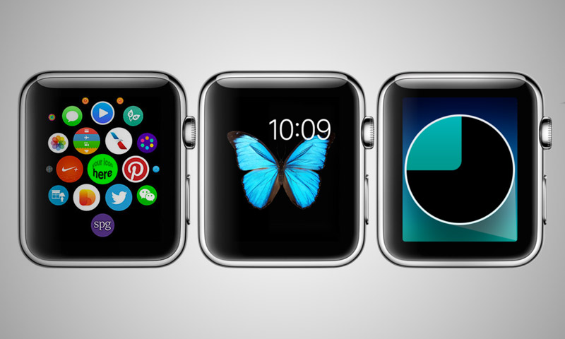 apple screen watch psd