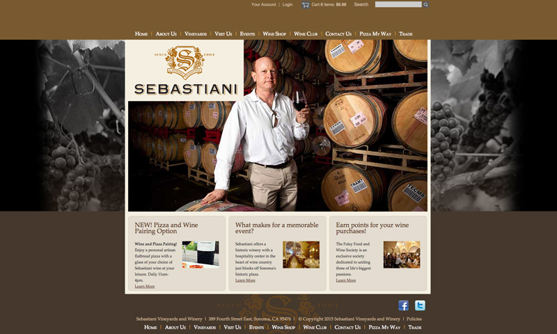 wines website