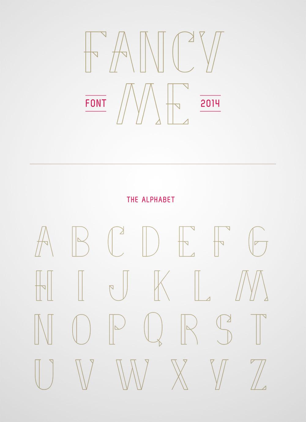 fancy sans serif