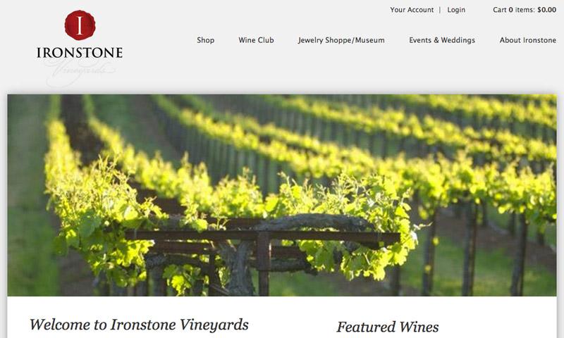 vineyards sites