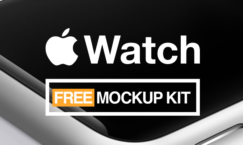 iwatch free mockups kit