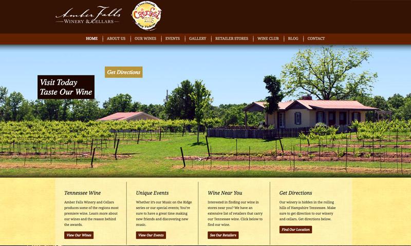 amber falls website