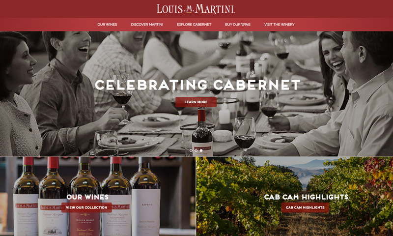 martini wine website