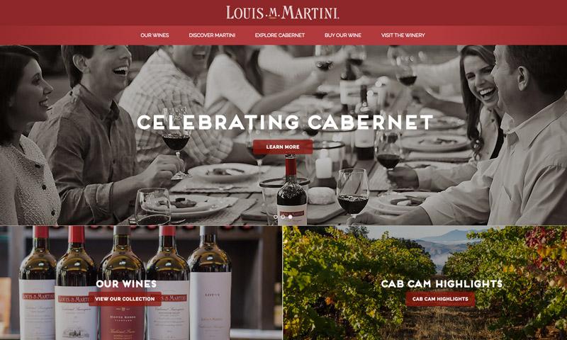 martini wine website