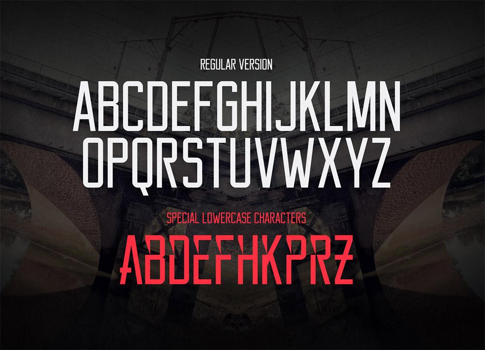 free serif capital