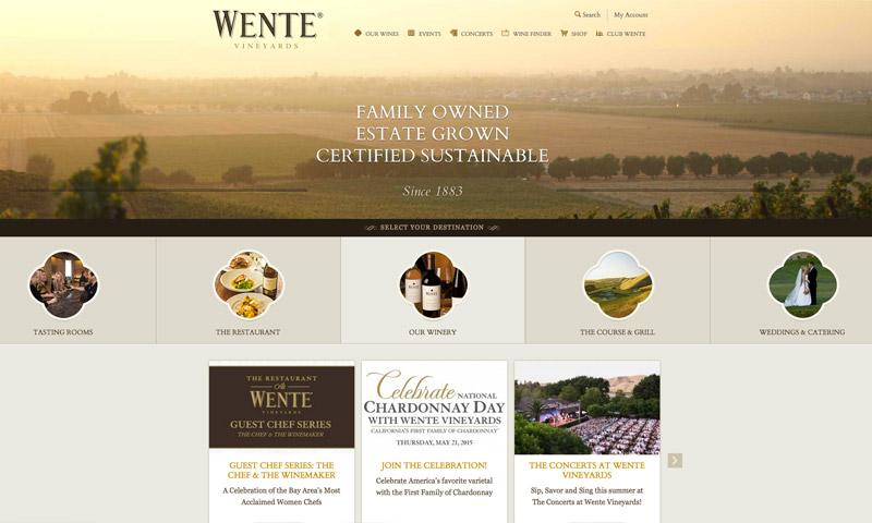 vineyard web design