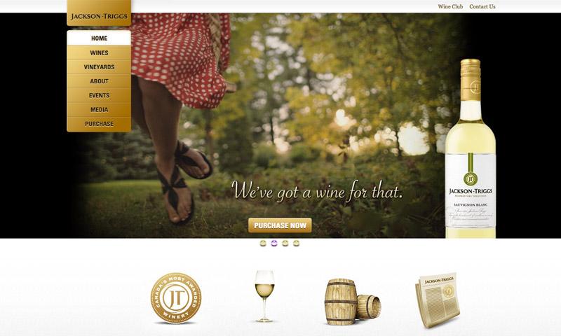 wines website