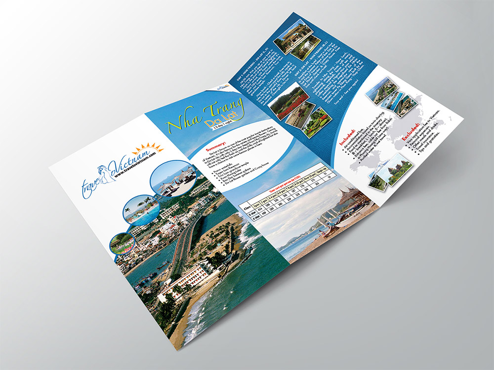 Vietnam travel brochure