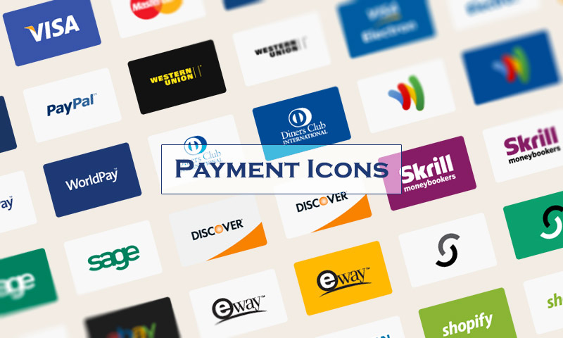 payment vector icons