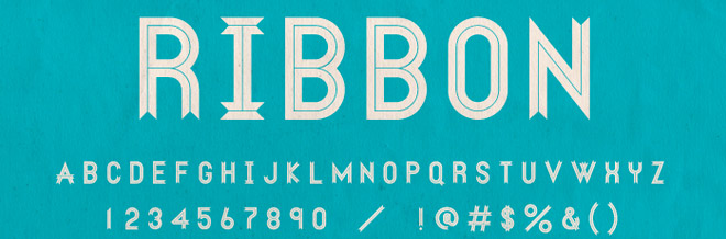 Free Ribbon Fonts Designers Would Love to Have