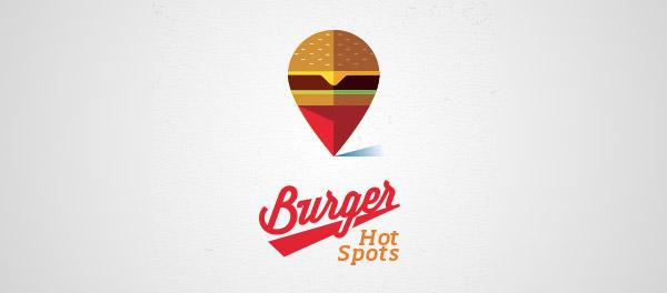burger flat logo