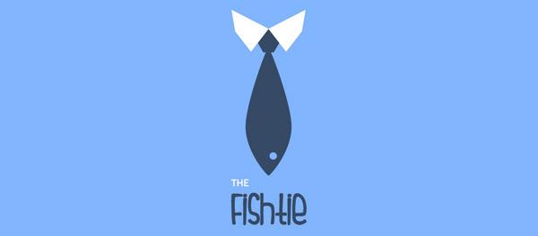 fish tie logo