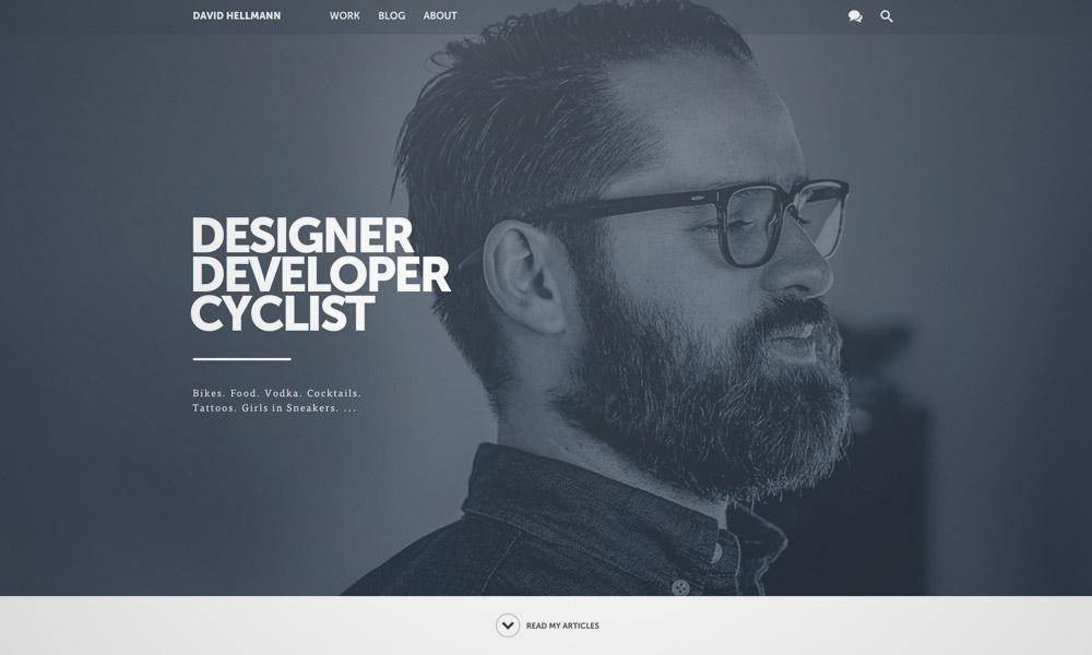 freelance portfolio design
