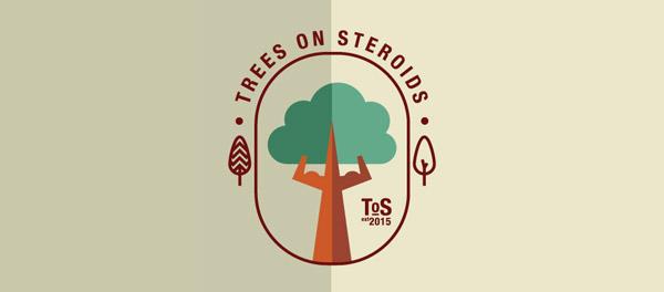 tree flat logo