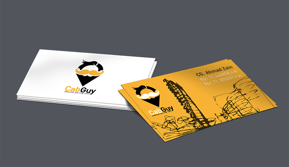 cab business card
