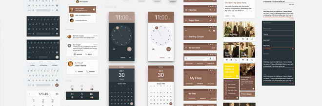 15 Free Android UI Kits For Mobile App Designers