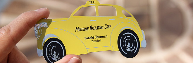 15+ Business Card Designs for Taxi Business