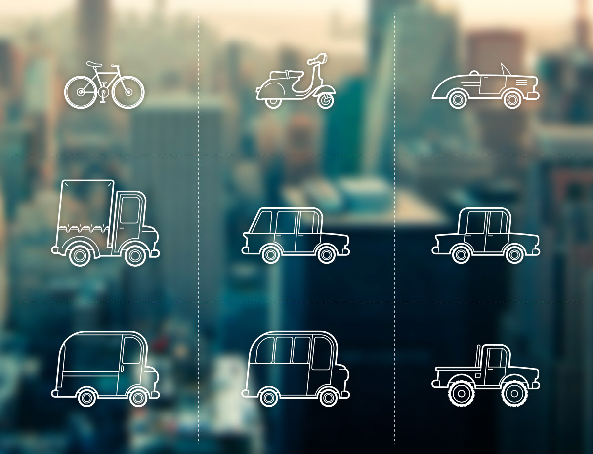 vehicle icons free
