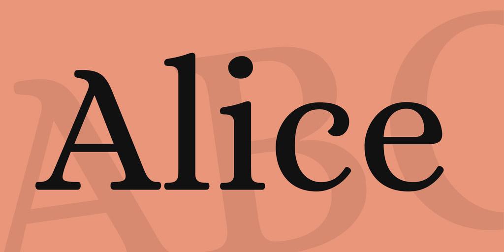 classic serif font