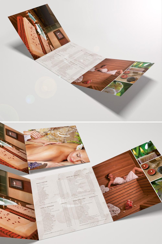 landscape trifold brochure