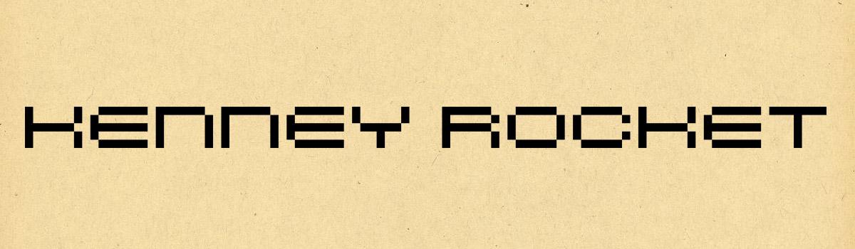 sci fi font family