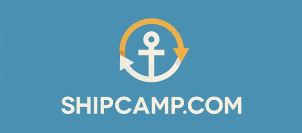 creative anchor logo design