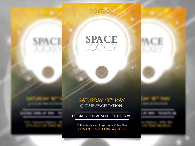 free flyers template download