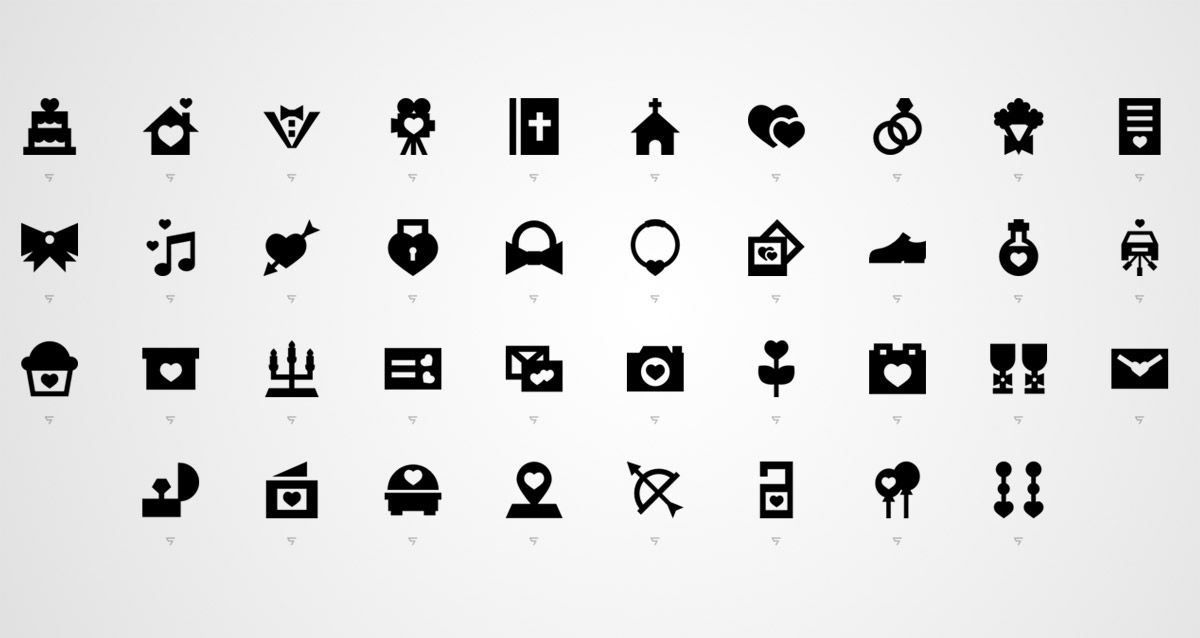 silhouette icons