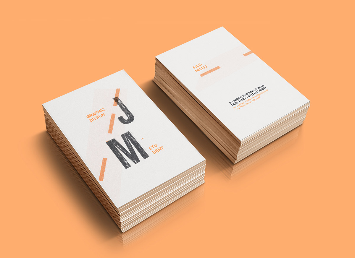 Creative Minimalist Business Cards Choice Image - Card Design And ...