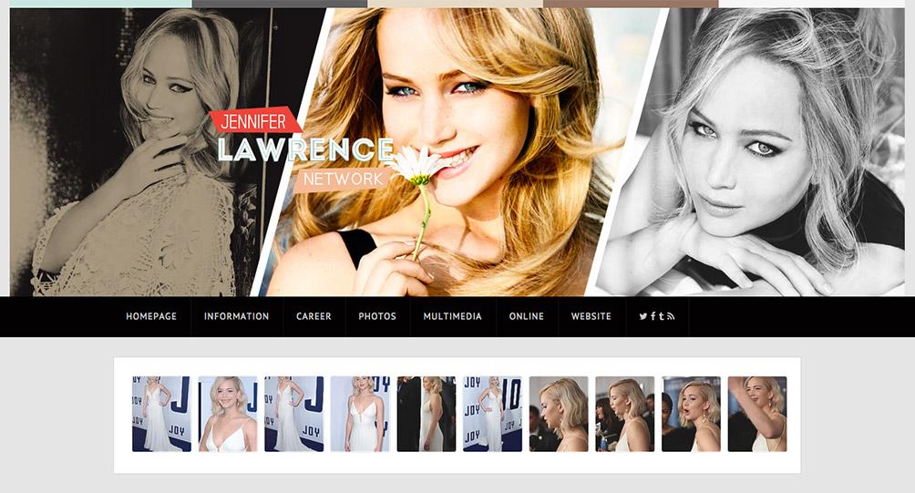 celebrity web design
