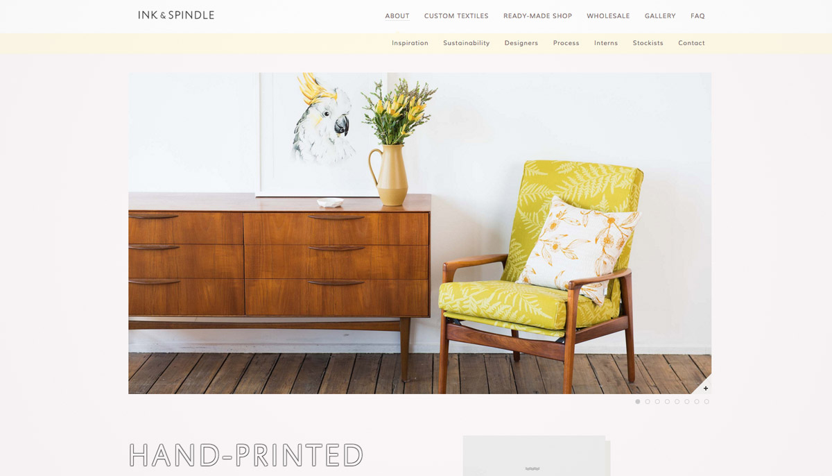 furniture site design