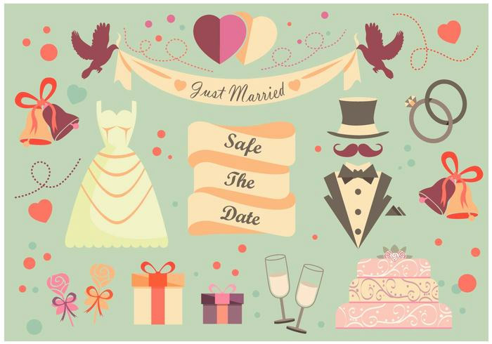 wedding vector freebies